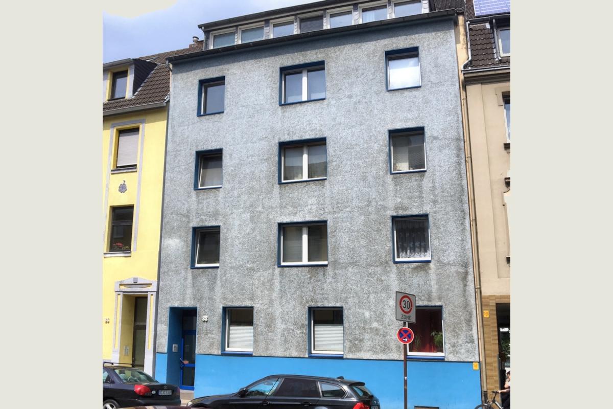 Mehrfamilienhaus mit kleinen Wohneinheiten