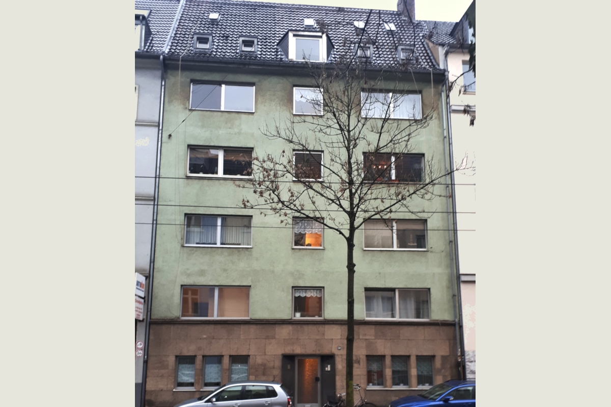 Entwicklungsfähiges Mehrfamilienhaus in Flingern